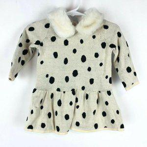Gap Baby Disney Dalmatian Dress Furry Collar 3-6M